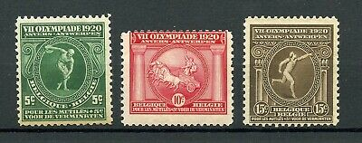 BELGIUM 1920 Olympic Games Stamps MNH **