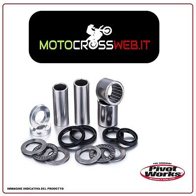 Kit Pivot Works Revisione Perno Forcellone Husqvarna Te 510 2008-2010