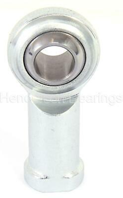 PHS8ECL 8mm Rose Joint Female Rod End Bearing M8 Left Hand Maintenance Free RVH