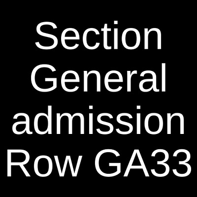 4 Tickets The National 6/19/19 The Anthem - D.C. Washington, DC