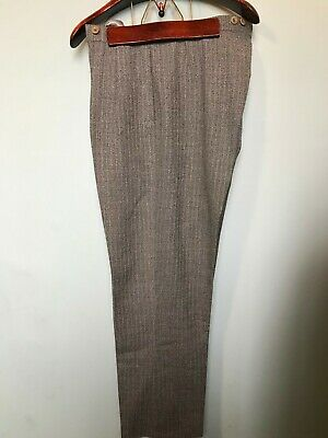 Vintage Burtons 1950's morning trousers size 40