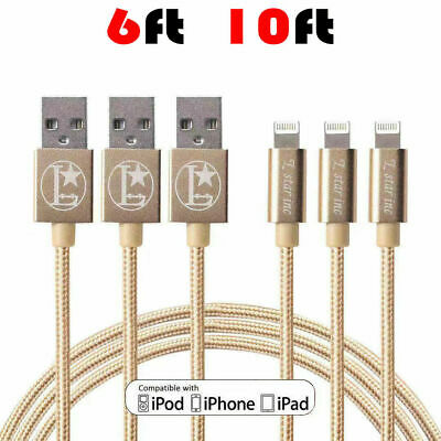 For Apple Lightning Cable Heavy Duty iPhone 6 7 Plus 8 X XR Charging Cable 2M&3M