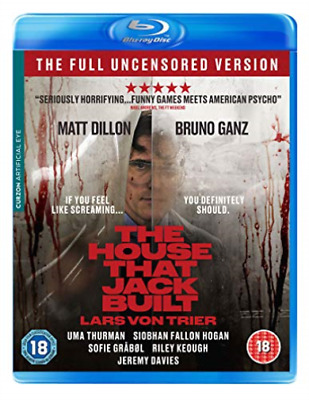 House That Jack Built. The (UK IMPORT) BLU-RAY NEW