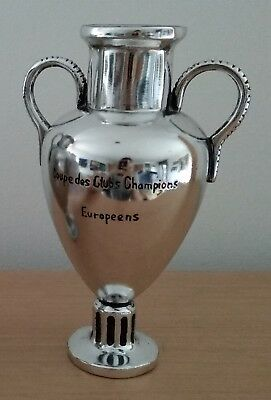 Copa Europa Antigua Trofeo Uefa. Real Madrid, Milan, Inter, European Cup Trophy