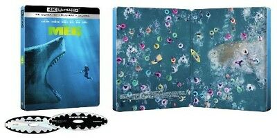 The Meg - Best Buy Exclusive Steelbook (Blu-ray + 4K UHD) BRAND NEW!!