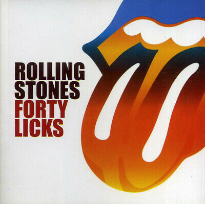 THE ROLLING STONES - Forty Licks ( 2 AUDIO CDs in JEWEL CASE )