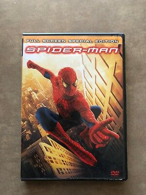 Spiderman Full Screen Special Edition Dvd
