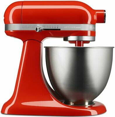 NEW KitchenAid 5KSM3311XAHT Mini Stand Mixer Hot Sauce
