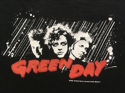 f4a171d4cb441 VINTAGE GREEN DAY AMERICAN IDIOT TOUR CONCERT SHIRT punk rock blink 182 vtg