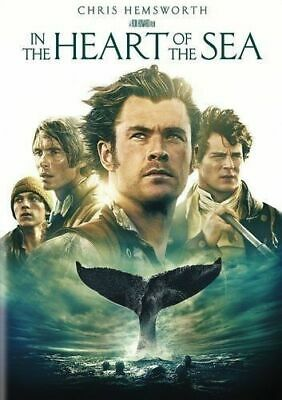 In the Heart of the Sea [DVD] GOOD DISC + COVER ARTWORK - NO CASE