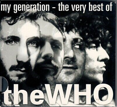 """Cd """" The Who - My Generation - The Very Best Of """" 20 Greatest Hits (Substitute)"""