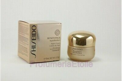 Shiseido Benefiance Nutriperfect Night Cream Trattamento Anti-Età Notte 50Ml