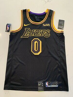 c8a4fc3a3e5 Kyle Kuzma Swingman Nike City Edition Jersey NWT. With/WISH Patch! Lore  Series