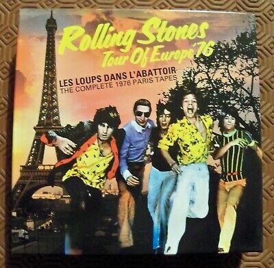 "Rolling Stones ""Les Loups Dans L'abattoir-The Complete 1976 Paris Tapes"" 8Cd Box"