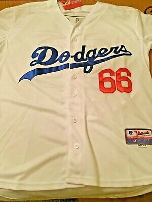 ca9e7019e57 Yasiel Puig Los Angeles Dodgers Home Authentic Cool Base Jersey Size 48