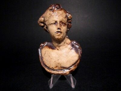 Roman Style Terracotta Bust Of Dionysus Applique, Replica!!!