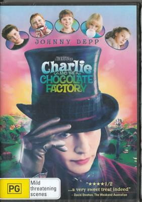 Charlie And The Chocolate Factory - Johnny Depp - New & Sealed Region 4 Dvd