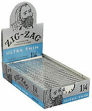 Zig Zag Cigarette Rolling Papers Ultra Thin 1 1/4-24 Packs (32 Papers Each Pack)