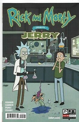 Rick and Morty #32 Variant First Print Oni Press