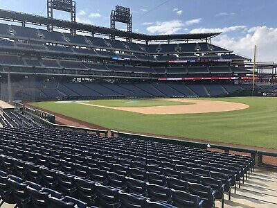 Philadelphia Phillies 2019 Tickets Baseline Aisle Seats