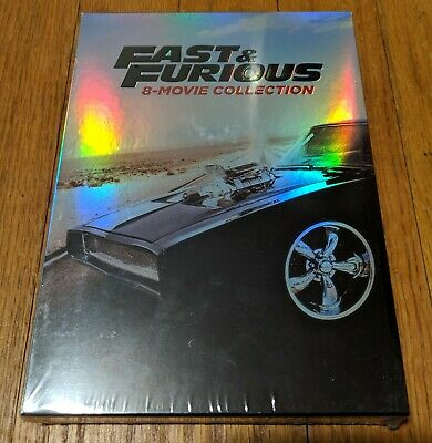 Fast and Furious: 8-Movie Collection | DVD | 2017 | 9-Disc Set