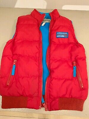 RED, boys size 6-7 puffer vest