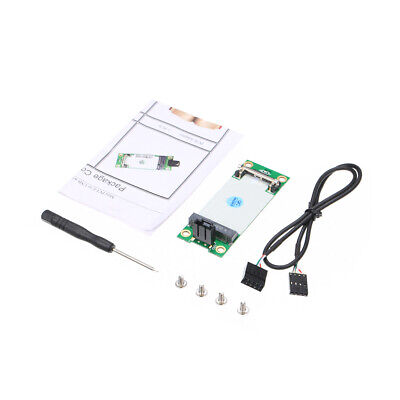 Mini PCIe WWAN to USB Adapter Card With SIM Slot 3G Module Tester Converter A6I1