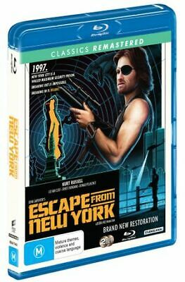 Escape From New York (Blu-ray, 2019) (Region B) New Release