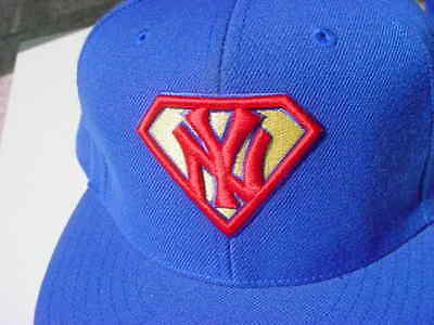 e0af96b3880 American Needle Cooperstown collection baseball hat cap 7 1 8 Superman  Yankees