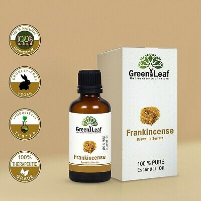 Frankincense Essential Oil 100% Pure Natural. Aromatherapy. 20ml, 50ml, 100ml.