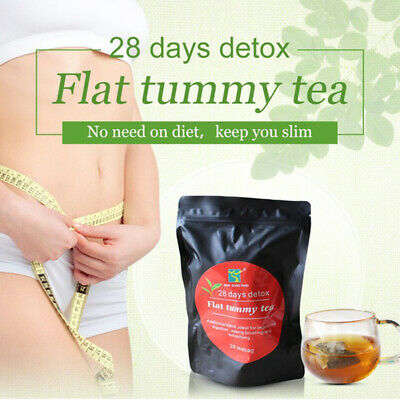 Health Appetite Suppressant Thin Belly 28 Days Detox Slimming Weight Loss Tea D