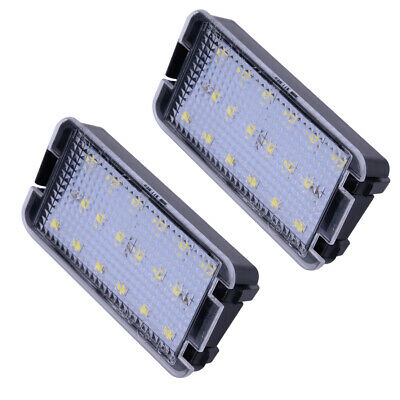 Fits Seat Ibiza Mk3 (6L) 2003-2008 Pair 2-Pin LED Number License Plate Light