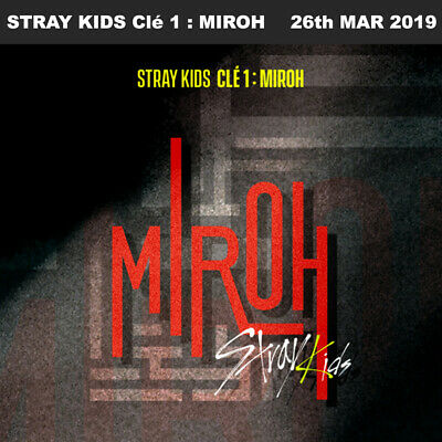 STRAY KIDS Clé 1 : MIROH CD+Photobook+Photocard+Etc+Tracking Number
