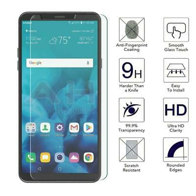 5Pack For LG Stylo 4 Plus HD Clear Tempered Glass Screen Protector Film Cover SL