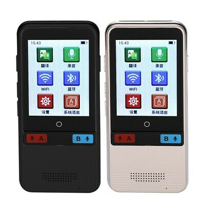 Portable Smart Instant Voice Translator Real Time 45 Multi-Language Translation