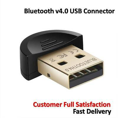 Bluetooth v4.0 Connector USB Dongle CSR 4.0 Adapter for Windows 7 8 10 PC Laptop