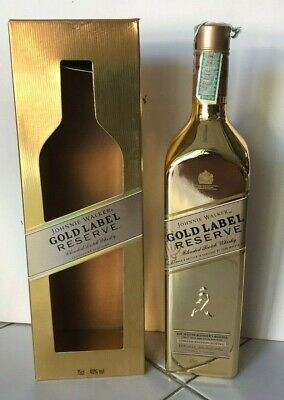 Johnnie Walker GOLD LABEL RESERVE BOTTLE limited Ed + BOX Authentic Thailand