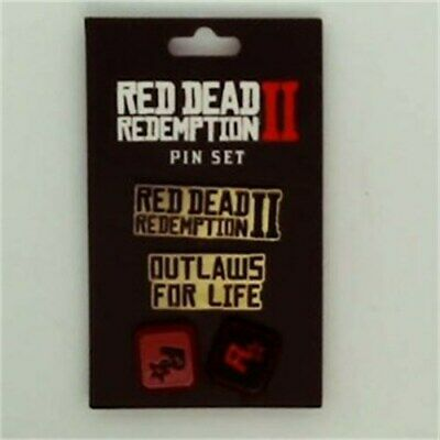 Red Dead Redemption II 4pc Pin Set