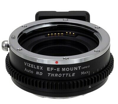 Fotodiox Pro Vizelex ND Throttle Auto Adapter Canon Lens to Sony Body