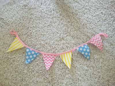 """Our Generation 18"""" doll party banner for doll birthday fits American Girl"""