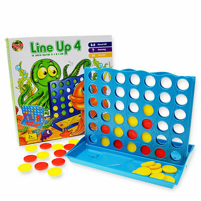 Line Up 4 Connect Four In A Row Board Game Family Party Travel Kids Fun Toy Gift