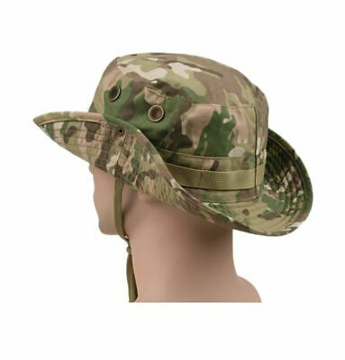 Bucket Boonie Hat Multicam Tactical Airsoft Sniper Camouflage Nepalese Army Cap