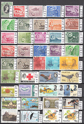 Lot 54A Mauritius X43 Diff.. Cat £60+ Stamps