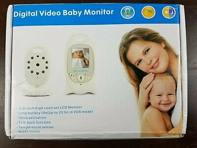 Floureon Video Baby Monitor with LCD Display, Digital Camera, Infrared Night