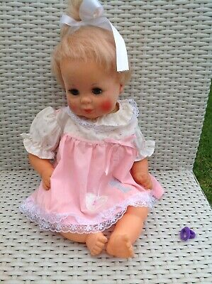 Rare Vintage  1975 IDEAL BABY DREAMS Velvety Face