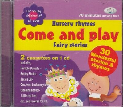 Come and Play Nursery 30 Rhymes Fairy Stories 70 Mins CD Audio Young Children
