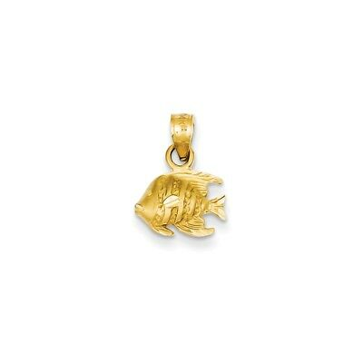 14k Yellow Gold Number 2 Pendant Two Digit Charm Satin
