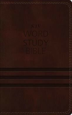 Word Study Bible : King James Version, Brown, Red Letter Edition: 1,700 Key W...