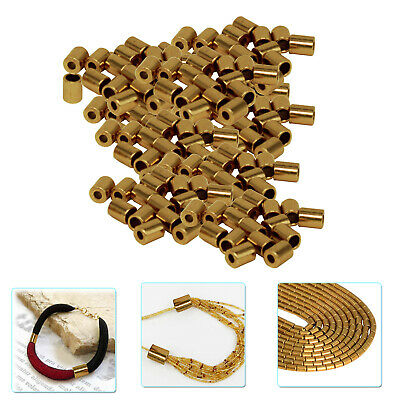 3.5mm Toggle End Cord Stopper Seed For Jewelry Making DIY Crafting Gemstone Bead