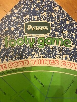 1970s Peters ice cream Footy Game